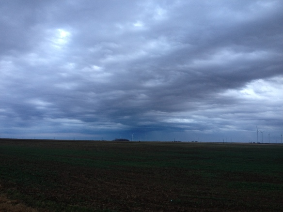 Southwest Oklahoma after an early morning rain