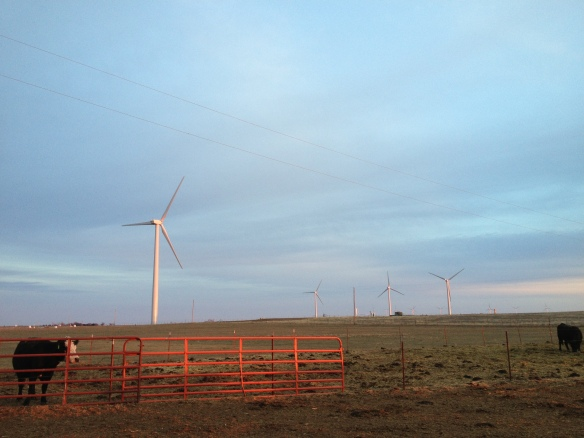 Wind Turbine, Rocky, OK