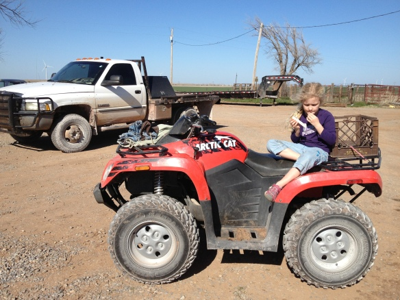 K On Four Wheeler