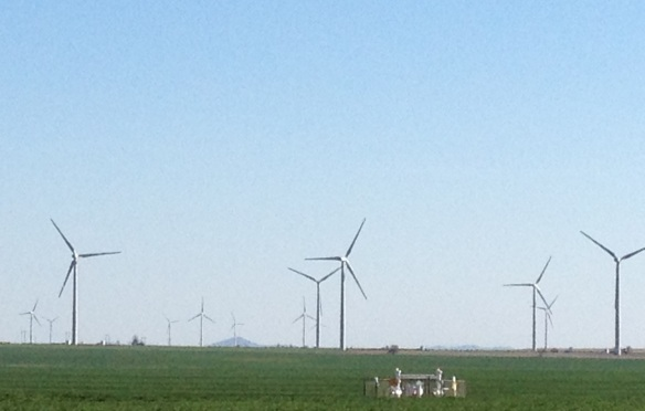 Windmills in SW Oklahoma