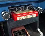 Eight track Tape in Player