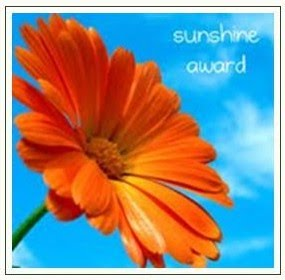 The Sunshine Award is an award given by bloggers to other bloggers. The receivers of the Sunshine Award are bloggers who positively and creatively inspire others in the blogsphere.