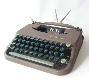 Smith Corona Portable Typewriter