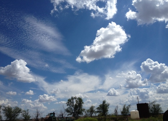 Clouds In Southwest Oklahoma