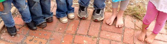 kids' feet