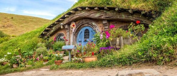 image of Hobbit house  via somewhere on the internet